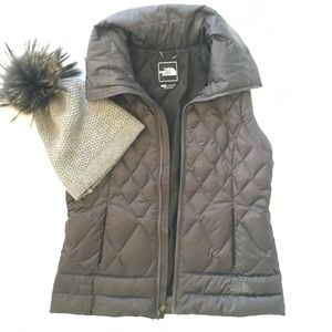 The North Face Quilted Vest 600 Goose down Fill